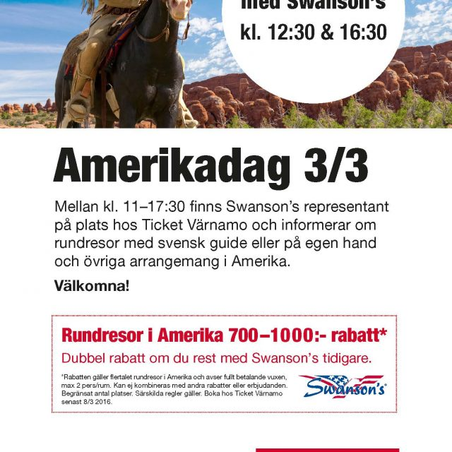 Amerikadag hos Ticket